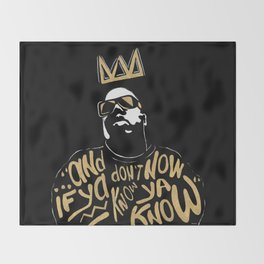 Brooklyn's King Throw Blanket