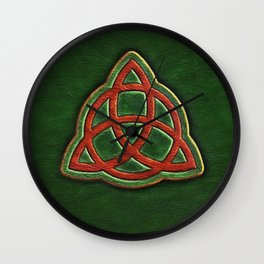 Book of Shadows Cover Wall Clock