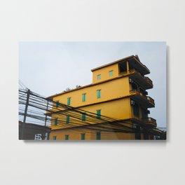 Building in Dong Hoi Metal Print