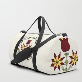 Dutch Country Floral Duffle Bag