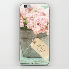 I adore you iPhone & iPod Skin
