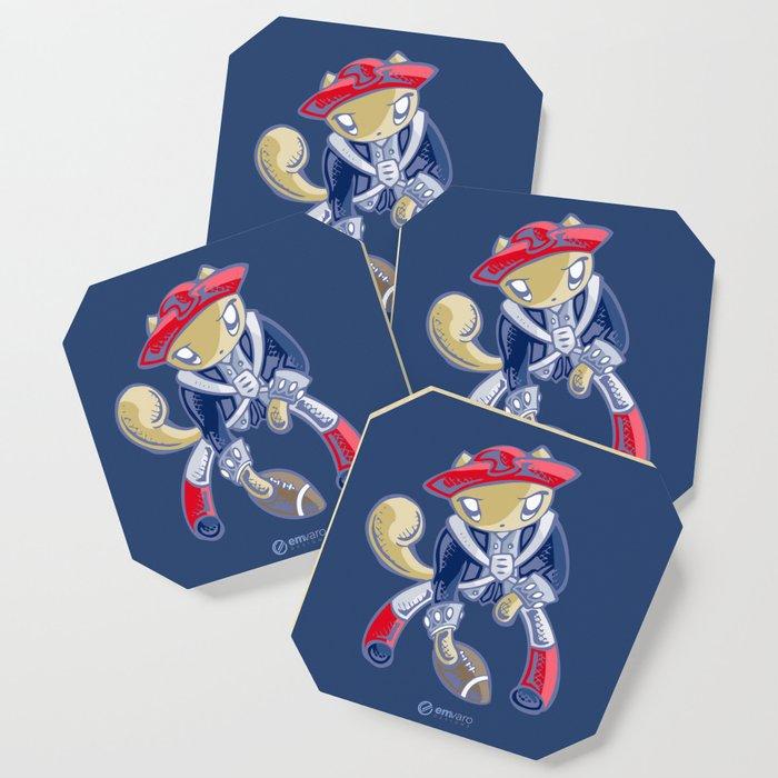 Skribbles: Go Patriots Coaster
