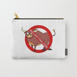 Bullshit Free Zone Carry-All Pouch