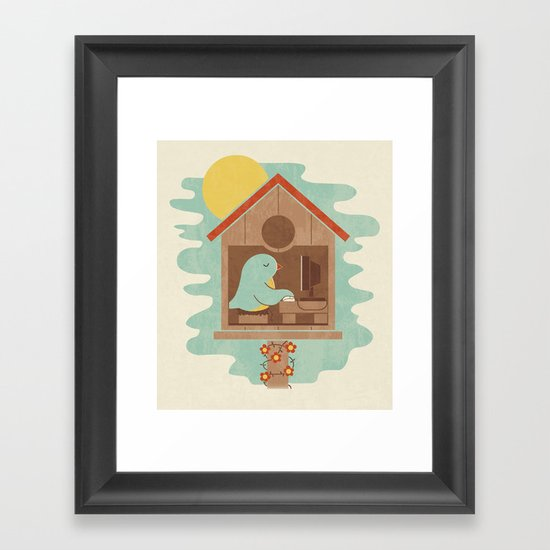 All Seasons Feel The Same Framed Art Print