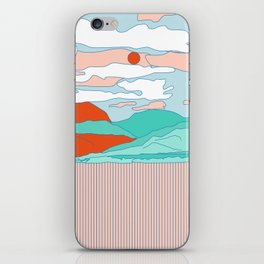 Valle Blanco iPhone Skin