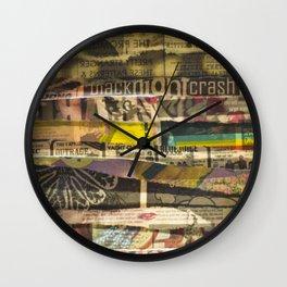 Gigs & Cigs Wall Clock