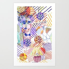 Buried  Art Print