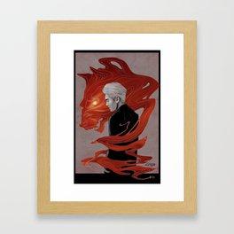 Naega Wolf Kris Framed Art Print