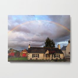 Perfect rainbow Metal Print