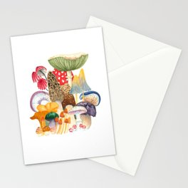 Woodland Mushroom Society Stationery Cards