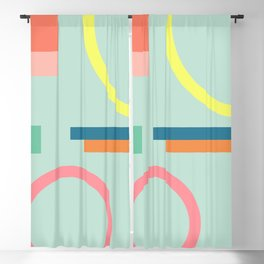 Modern Geometric 71 Blackout Curtain