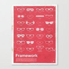 Framework Canvas Print