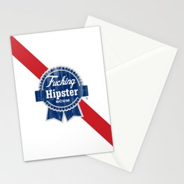 Fucking Hipster Scum PBR Stationery Cards