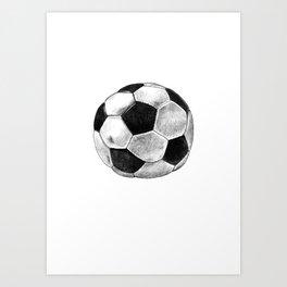 Soccer Worldcup Art Print