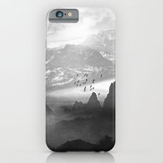 Black and White - Winter. Melody... Slim Case iPhone 6s