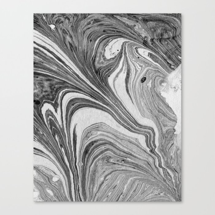 marbling 07 Canvas Print