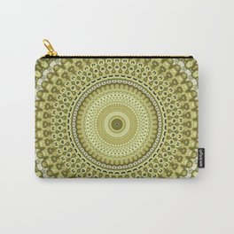 Fractal Kaleido Study 003 in CMR Carry-All Pouch