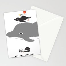 DOLPHIN PENGUIN COCKATIEL Stationery Cards