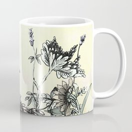 The thrush and a promise of Spring Coffee Mug