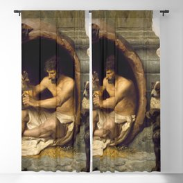 Jean-Léon Gérôme - Diogenes Blackout Curtain