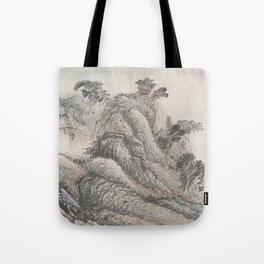 Outing to Zhang Gong's Grotto Tote Bag