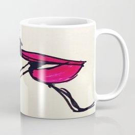 a smoking lady Coffee Mug