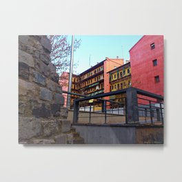 Old Town of Madrid - Lavapiés Metal Print