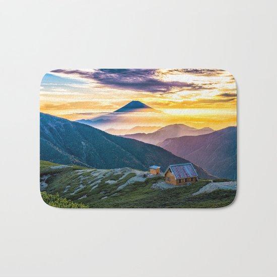 Mt Fuji I Bath Mat