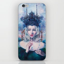 Self-Crowned iPhone Skin