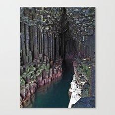 Fingal's Cave Canvas Print