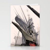ships Stationery Cards featuring ships by Nathanaël Ferdinand