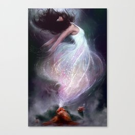 The Side Effect Canvas Print