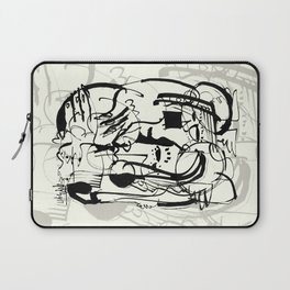 Two Shy Angels Laptop Sleeve