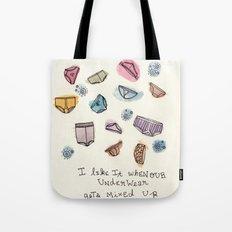 Underwears Tote Bag