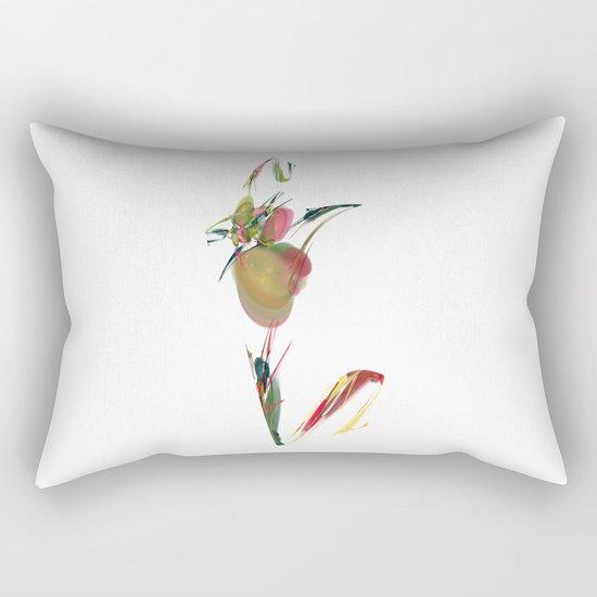 V is Vegan Rectangular Pillow