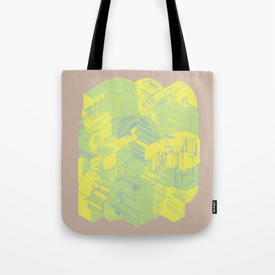 Typographic Wasteland Tote Bag
