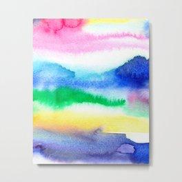 Abstract Summer Dreams Metal Print