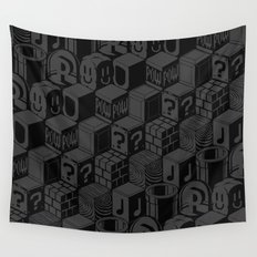 SUPER MARIO BLOCK-OUT! Wall Tapestry