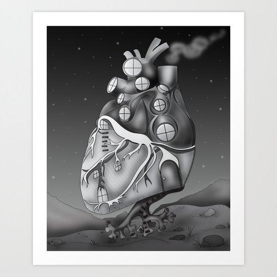 Transplantation I Art Print