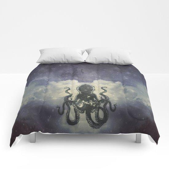 Flying Squid Comforters