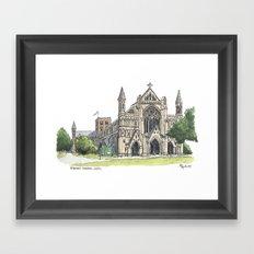 St. Albans Cathedral Framed Art Print