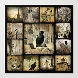 Gothic Squares Canvas Print