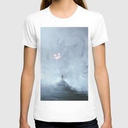 Little devil inside T-shirt