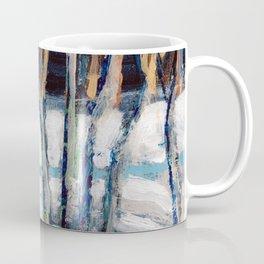 White Birch Grove / Dennis Weber / ShreddyStudio Coffee Mug