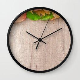 winter follies Wall Clock