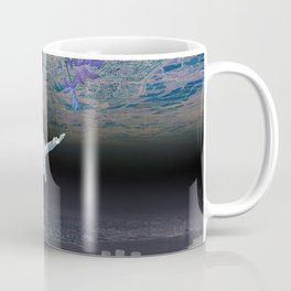 A Skydiver Between Two Parallel Universes Coffee Mug