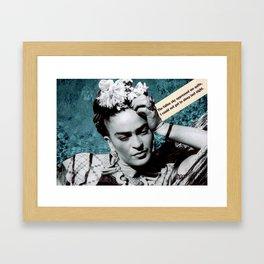 Tribute to Frida Kahlo #26 Framed Art Print