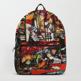 Mandala Trompe L'Oeil Backpack