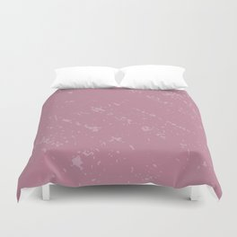 Powdered Pink Duvet Cover