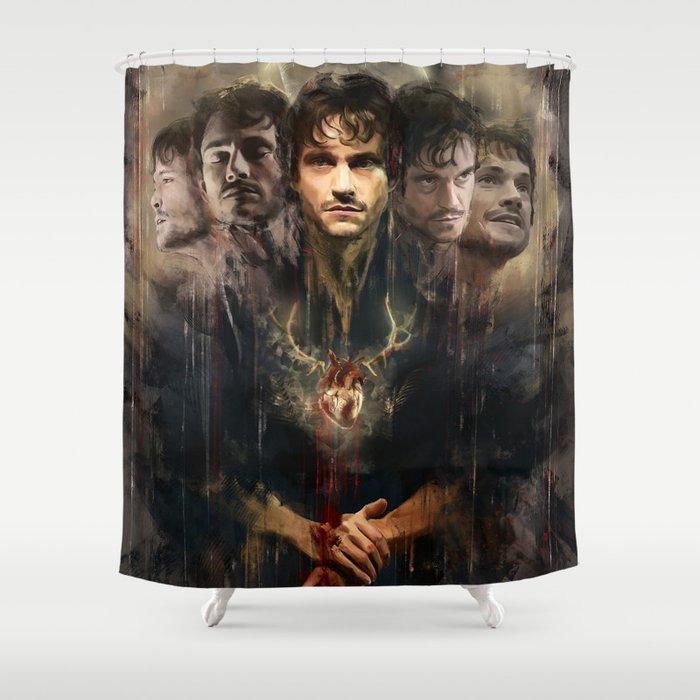 Uno Nessuno E Centomila Radiance Anthology Shower Curtain